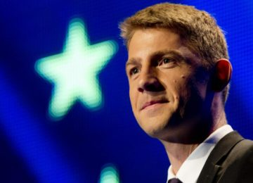 europoslanec Petr Mach rezignoval