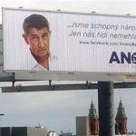 politické billboardy Babiš