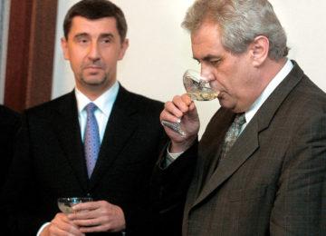 Podpora Zemana Andrejem Babišem a ANO 2011