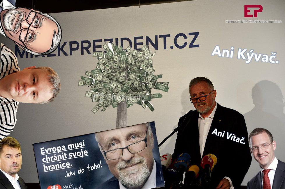 Předvolební kampaň Mirka Topolánka 2018