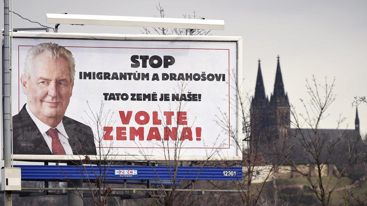 Jak Miloš Zeman vyhrál prezidentské volby 2018