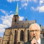 Jiří Drahoš naplnil Měšťanskou besedu v Plzni