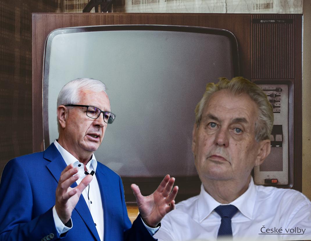 Prezidentské debaty Zemana s Drahošem před druhým kolem prezidentských voleb