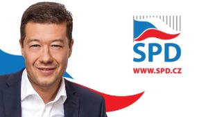 volební preference SPD - Tomio Okamura