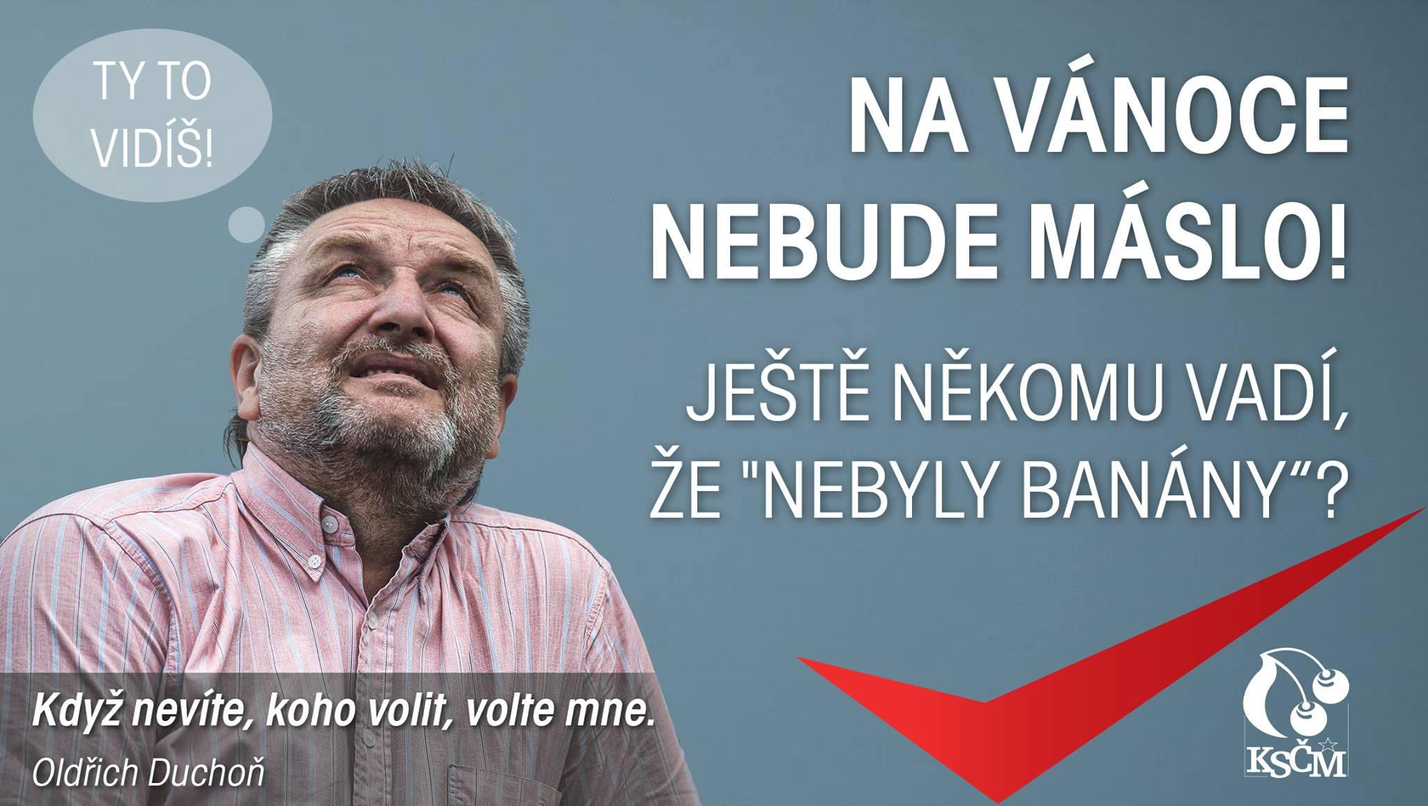 Kandidát KSČM Oldřich Duchoň