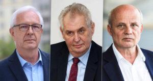 Prezidentské volby ČR 2018 preference