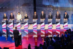 Prezidentská debata Česká televize