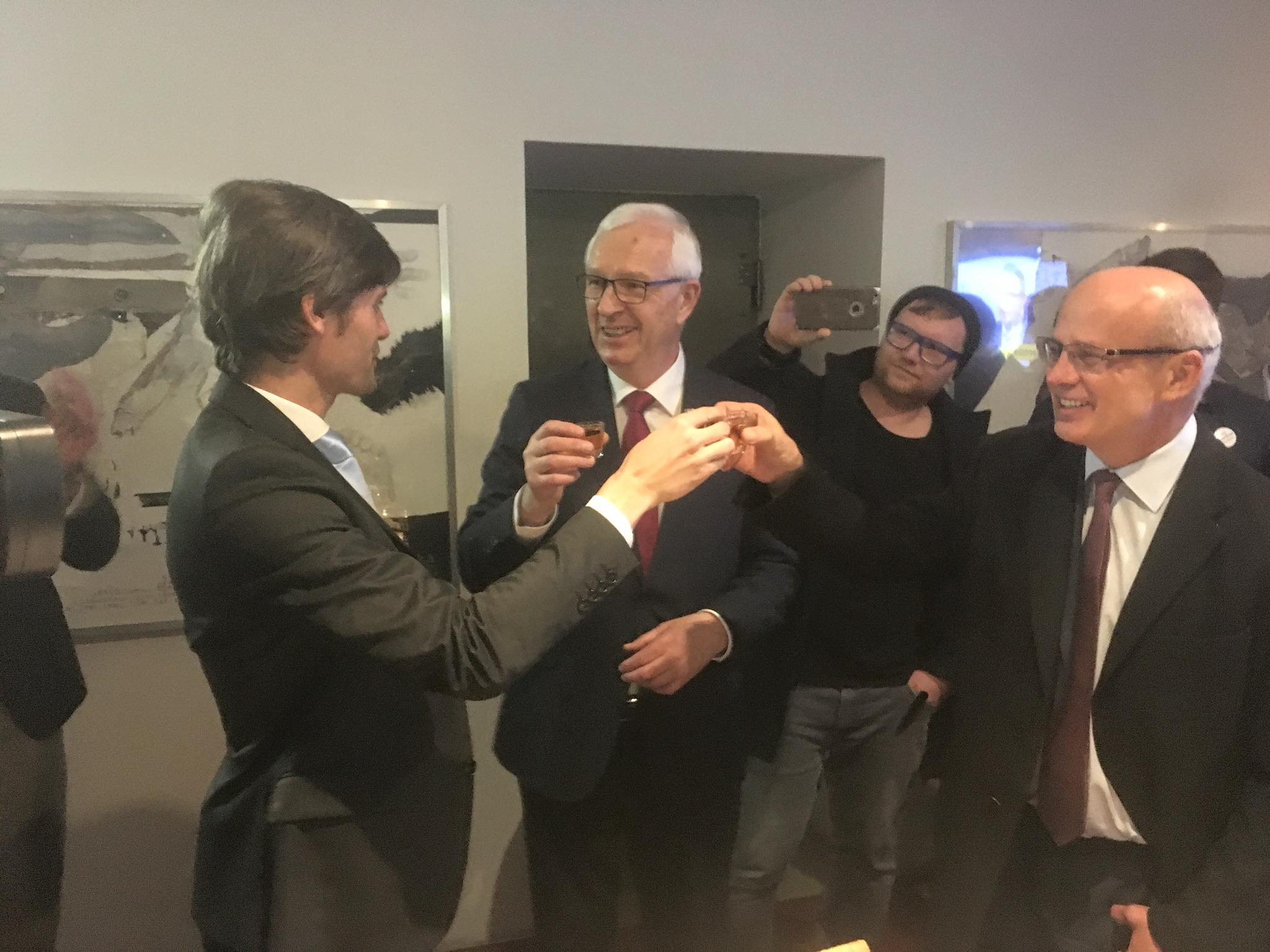 Pavel Fischer, Marek Hilšer i Michal Horáček podporují Drahoše