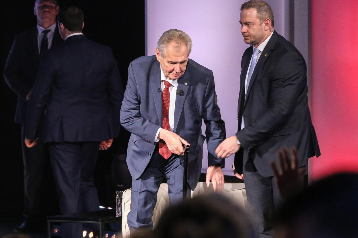 Prezidentská debata na Primě naplno ukázala jak si Miloš Zeman představuje politickou kulturu