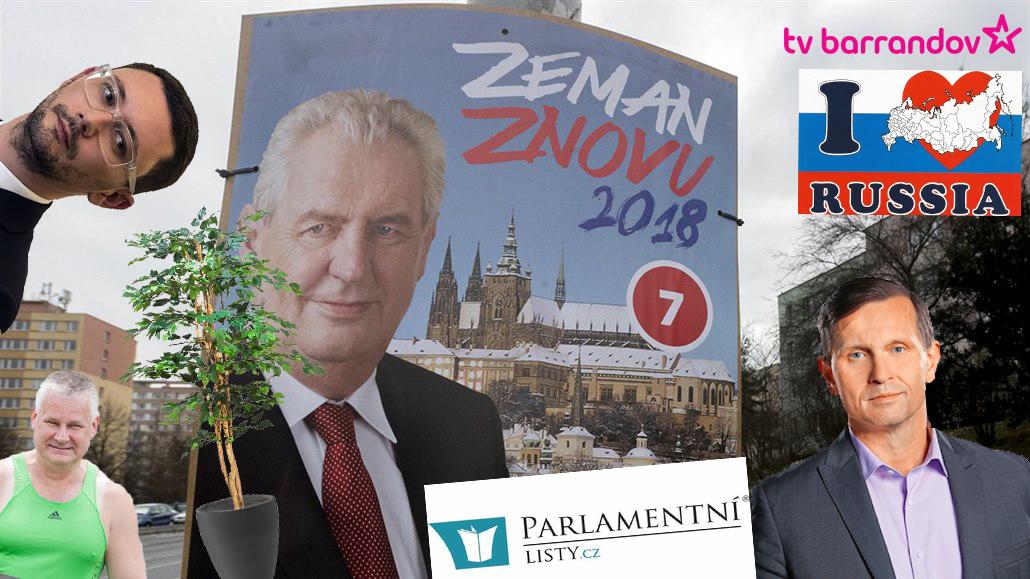 Předvolební kampaň Miloše Zemana na prezidenta 2018