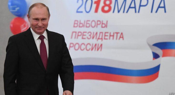 Ruské prezidentské volby 2018 ovládl Putin