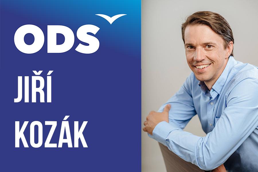 Jiří Kozák ODS kandidát do senátu Benešov