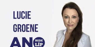 Lucie Groene senátní volby ANO