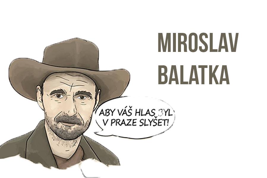 Miroslav Balatka senátní volby