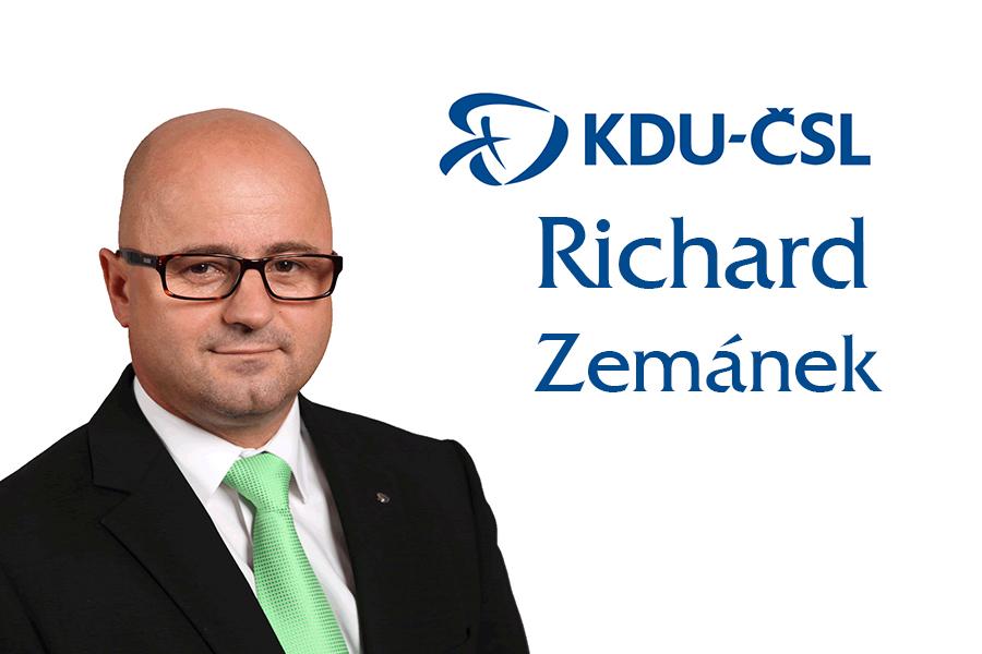 richard zemánek kandidát do senátních voleb