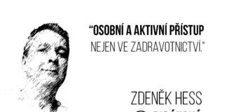 Kandidát na senátora Zdeněk Hess