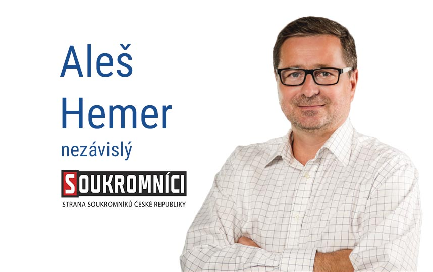 Aleš Hemer senátní volby Benečovsko