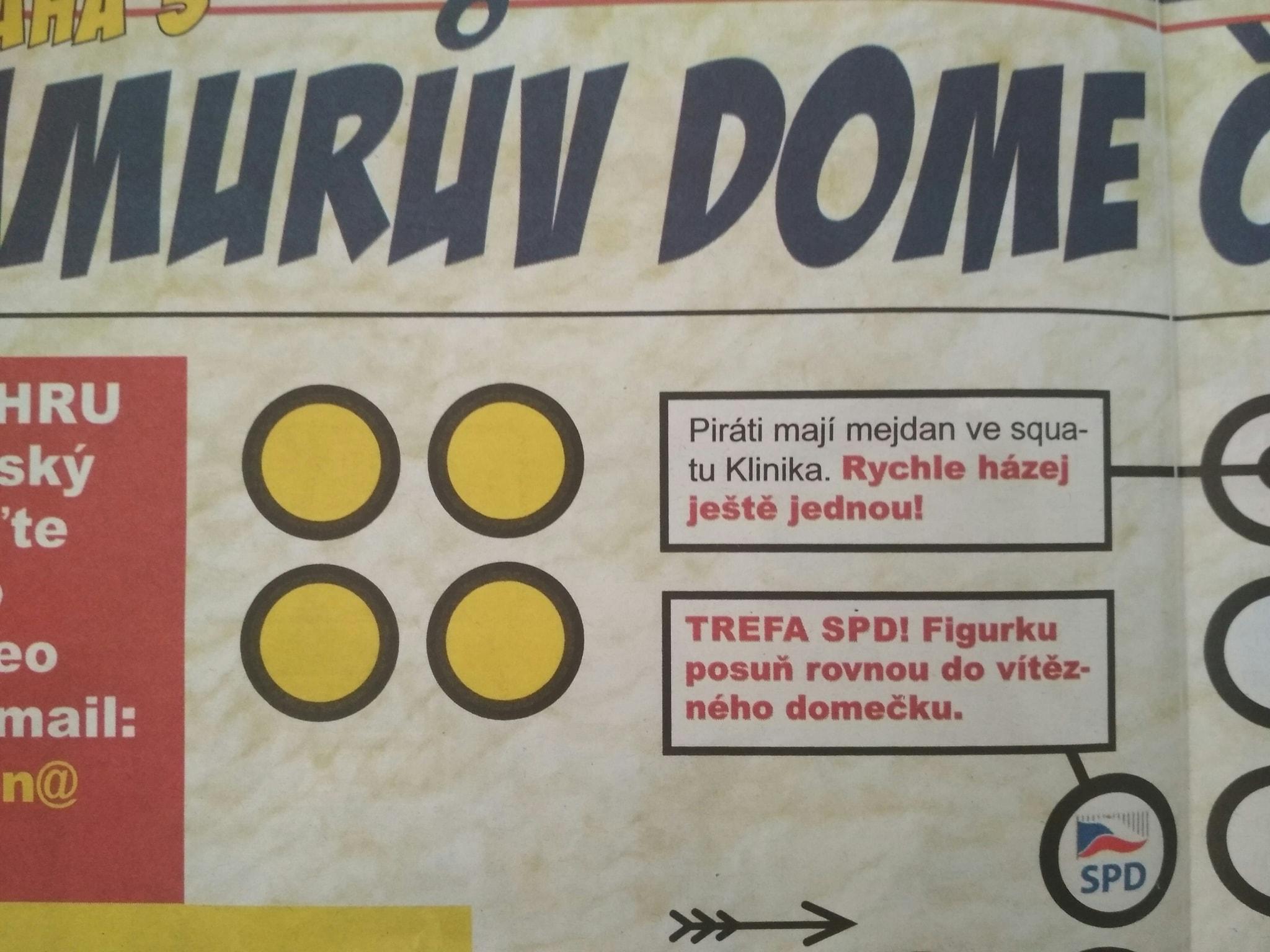 Noviny SPD Praha