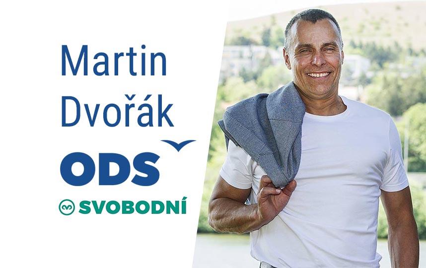 Martin Dvořák do Senátu