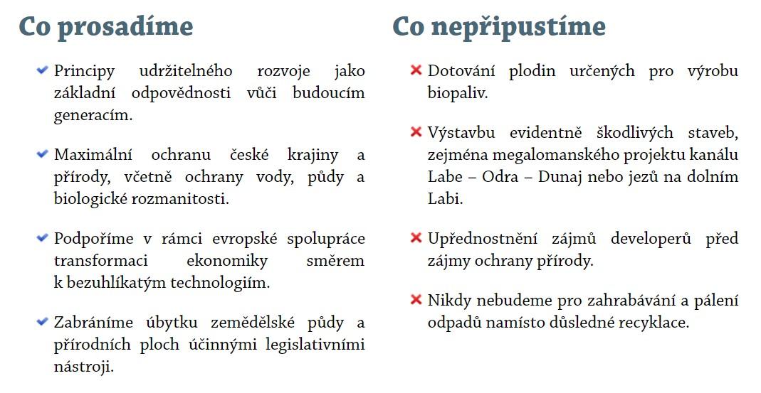 Volební program TOP 09