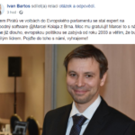 Marcel Kolaja lídr pro Evropský parlament