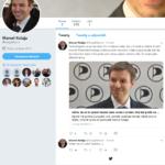 Vytvoření profilu na twitteru i přes odpor