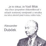 Alexander Dubček citáty