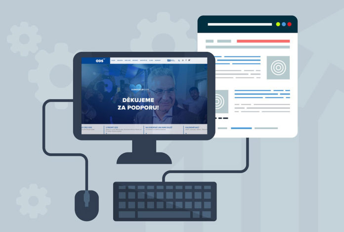 webové stránky politických stran