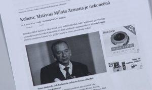 ČT reklama v otázkách Václava Moravce