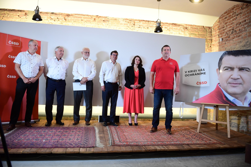 ČSSD předvolební kampaň
